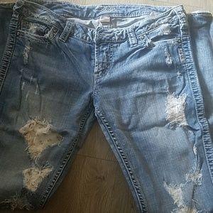 Silver Jean's 31x33